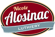 Homepage link for Nicole Alosinac Luthiery