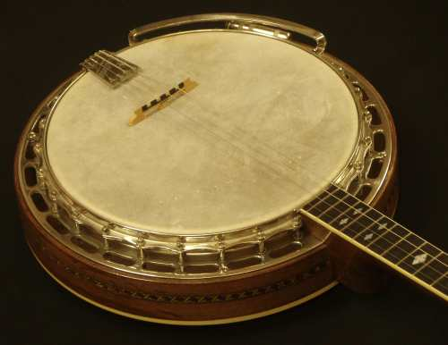 New natural banjo skin replacement by Nicole Alosinac Luthiery