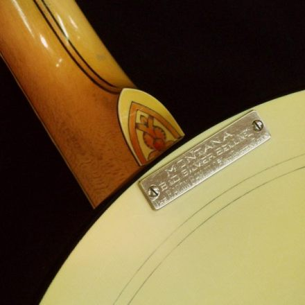Refret of B&D Silverbell banjo by Nicole Alosinac Luthiery