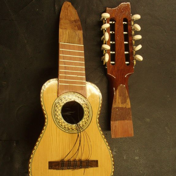 Charango Neck Repair by Nicole Alosinac Luthiery