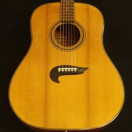 New Handmade Bridge for an Alvarez D70 by Nicole Alosinac Luthiery