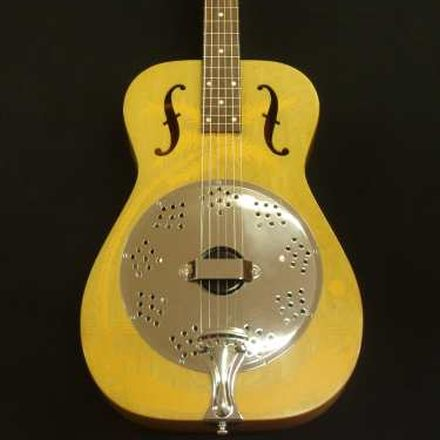Original Duolian Dobro Resonator repair by Nicole Alosinac Luthiery