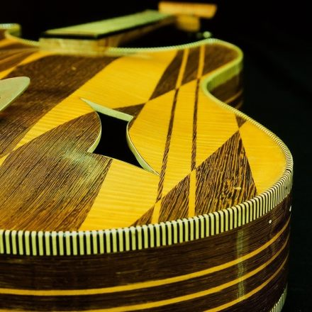 Repair of Huttl Guitar by Nicole Alosinac Luthiery