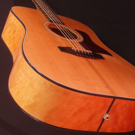Taylor 420 Side Crack Repair by Nicole Alosinac Luthiery