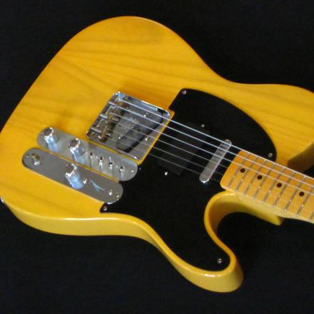 Telecaster guitar electronics mod performed by Nicole Alosinac Luthiery.